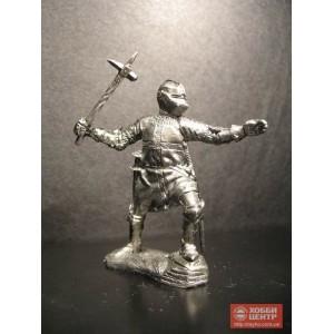 Госпитальер 15 век оловянный солдатик Or-08