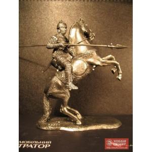 Русский всадник с конем вставщим на дыбы 6015rd