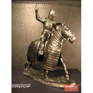 Конный рыцарь в доспехах с топором в руках Рыцарство 16 век 6022