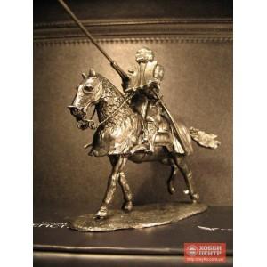 Рыцарь всадник на коне, оловянный солдатик 6047kl