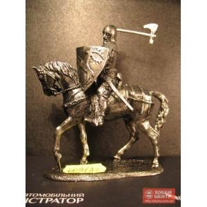 Польский рыцарь с топором в бою 6091