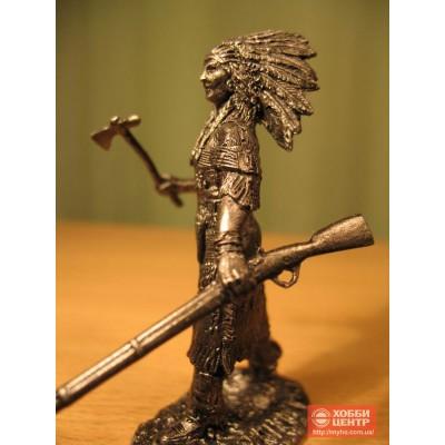 Женщина-воин племени ассинибойнов In-2