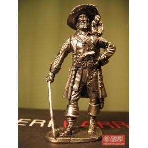 Пират с обезьянкой на плече. Новое время начало 17 века Капитан Барбосса Na-4