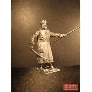 Россия.Стрелецкий сотник на походе 17 век