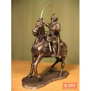 Казак Богун на коне с мечом Ro