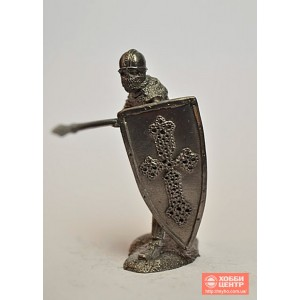 Тяжеловооруженный русский пехотинец, 13 век, вариант Г PTS-5098d