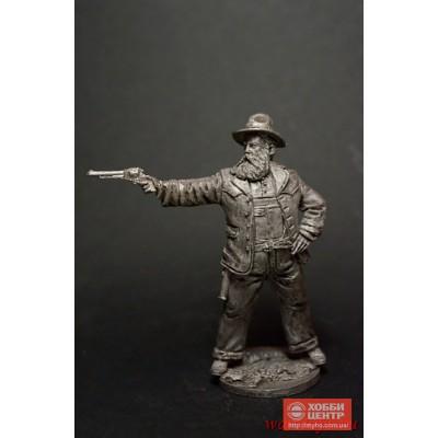 Тучный ковбой с револьвером WW-27