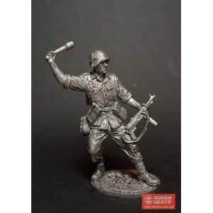 Автоматчик с гранатой, Вермахт (Германия). 1942-45 гг. WWII-44