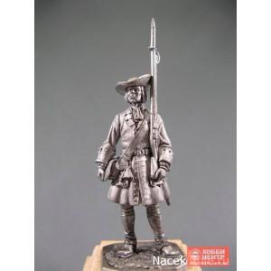Фузилер солдатского пехотного полка, 1706-06 гг. R280