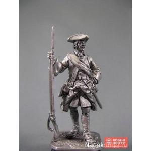 Капрал армейской пехоты, 1708-20 гг. Россия R282