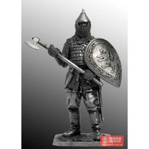 Русский воин с топором, 14 век M274