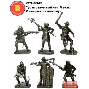 Гуситские войны. Чехи 40 мм PTS-4045