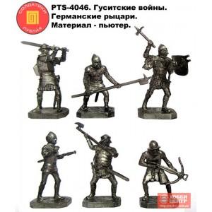 Гуситские войны. Германские рыцари 40 мм PTS-4046