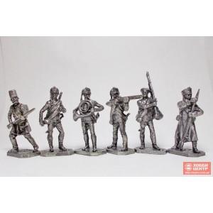 Русская пехота, 1812 г., часть №2 PTS-4048