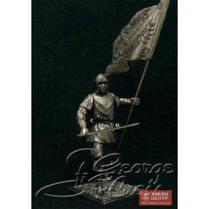 Европейская пехота, конец 15 века. Знаменосец Йорка 5341