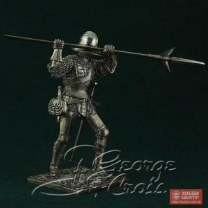 Европейская пехота, конец 15 века. Алебардист 5342.1