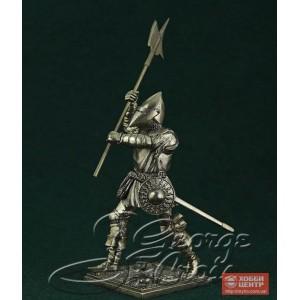 Европейская пехота, конец 15 века. Алебардист 5343.1