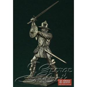 Европейская пехота, конец 15 века. Наёмный пехотинец 5343.7