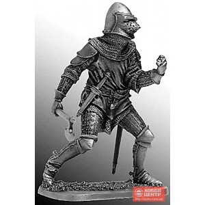 Французский рыцарь, середина 14 века 54-42
