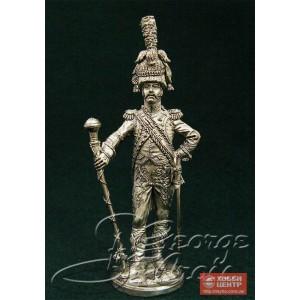 Тамбурмажор. Оркестр 3-го (Голландского) полка пеших гренадер Императорской Гвардии 1810 г. 5550