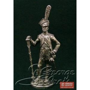 Тамбурмажор. Оркестр 17-го полка легкой пехоты 1810 г. 5557