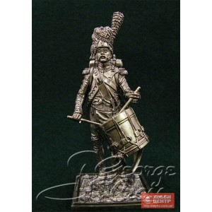 Барабанщик гренадерской роты. Линейная пехота 1812 г. 5558