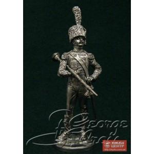 Тамбурмажор. Оркестр полка легкой пехоты 1814 г. 5563