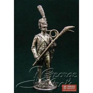 Музыкант с фаготом. Оркестр 67-го полка линейной пехоты 1808 г. 5565
