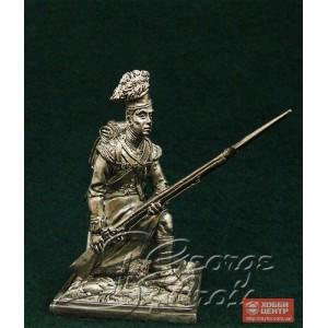 """Рядовой, положение """"На руку"""". Шотландцы 92-го Гордона полка 1815 г. 5575"""