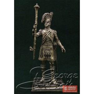 Тамбур-мажор полкового оркестра. Шотландцы 92-го Гордона полка 1815 г. 5578