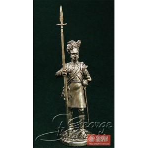 Колор-сержант. Шотландцы 92-го Гордона полка 1815 г. 5579