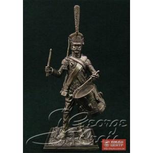 Барабанщик гвардейской пехоты в летней полной форме, 1812 г. 5589