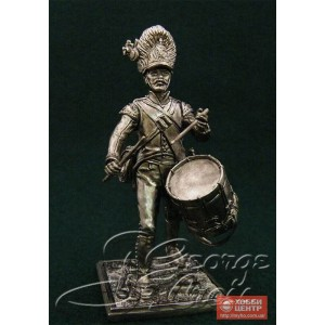 Барабанщик. Германские полки линейной пехоты, гренадерская рота 1805-14 гг.  5672е