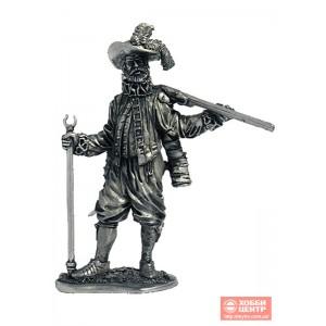 Английский мушкетёр-ветеран, 1588 год М13
