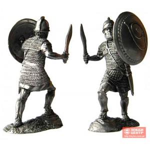 Тяжеловооруженный пехотинец священного отряда Карфагена, 3-2 вв до н. э. PTS-5209