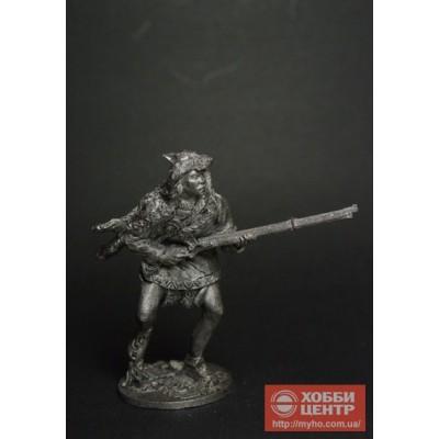 Индеец с ружьем ww-28