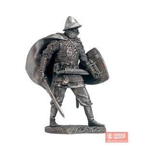 Восточнославянский воин в ламеллярном доспехе, 11-13 вв. EK-75-10