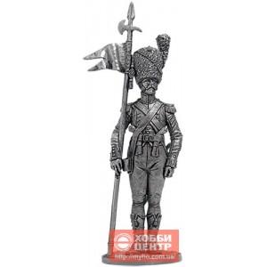 Старший сержант- 2-й орлоносец 7-го лёгкого полка. Франция 1809 NAP-81