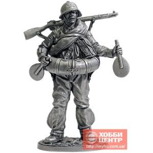 Боец РККА в плавательном костюме МПК. 1939-43 гг. СССР WWII-57