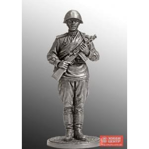 Гвардии красноармеец с ППШ. 1943-45 гг. СССР WWII-47