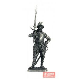 Европейский солдат с мечом, 16 век M107