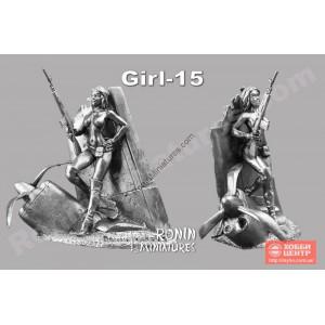 Постапокалипсис Girl-15