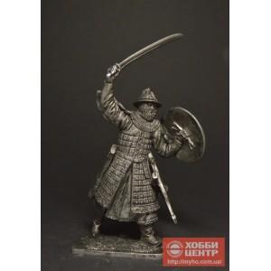 Тяжеловооруженный монгольский воин, 13 век Horde-04