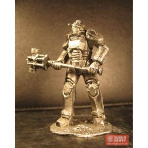 T-45 силовая броня. Воин из игры Fallout 4 Gm-02