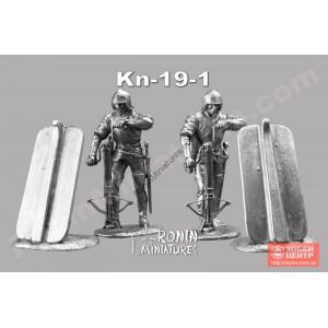 Арбалетчик с полиспастом и павезой Kn-19-1