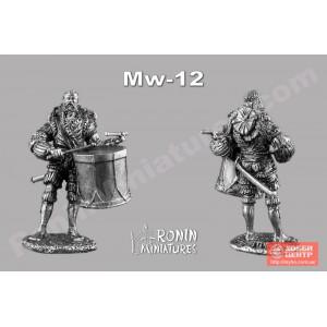 Ландскнехт с барабаном Mv-12