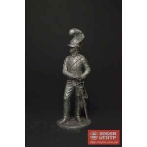 Рядовой 3 драг. Собст.полка Короля. Великобритания, 1812 г. NAP-89