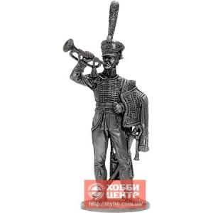 Штаб-трубач Сумского гусарского полка. Россия, 1810-14 гг. NAP-74