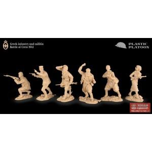 Бой за Крит. Греческая пехота и ополченцы PP set54 010