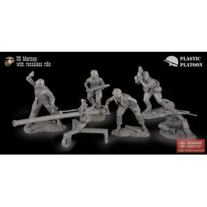 США. Битва при Хью. Пехота с безоткатным орудием PP set54 018
